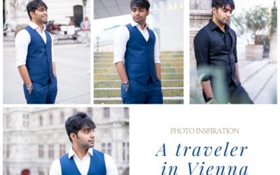 A traveler in Vienna