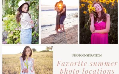 My favorite summer photo locations